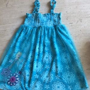 Turquoise Elsa cover up